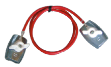 Connection cable with rope clamp 10596C